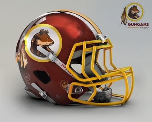 NFL goes Star Wars! Bei welchem Team würdet ihr anheuern? Nfl-washington-redskins-naboo-gungans