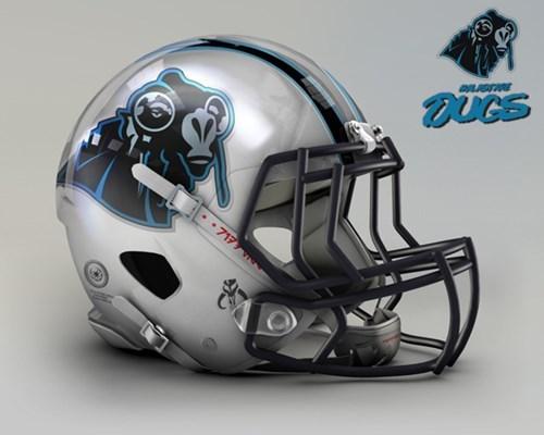 NFL goes Star Wars! Bei welchem Team würdet ihr anheuern? Nfl-carolina-panthers-malastare-dugs