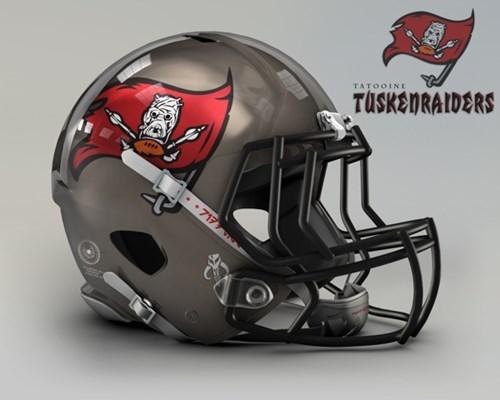 NFL goes Star Wars! Bei welchem Team würdet ihr anheuern? Nfl-tampa-bay-buccaneers-tatooine-tuskenraiders