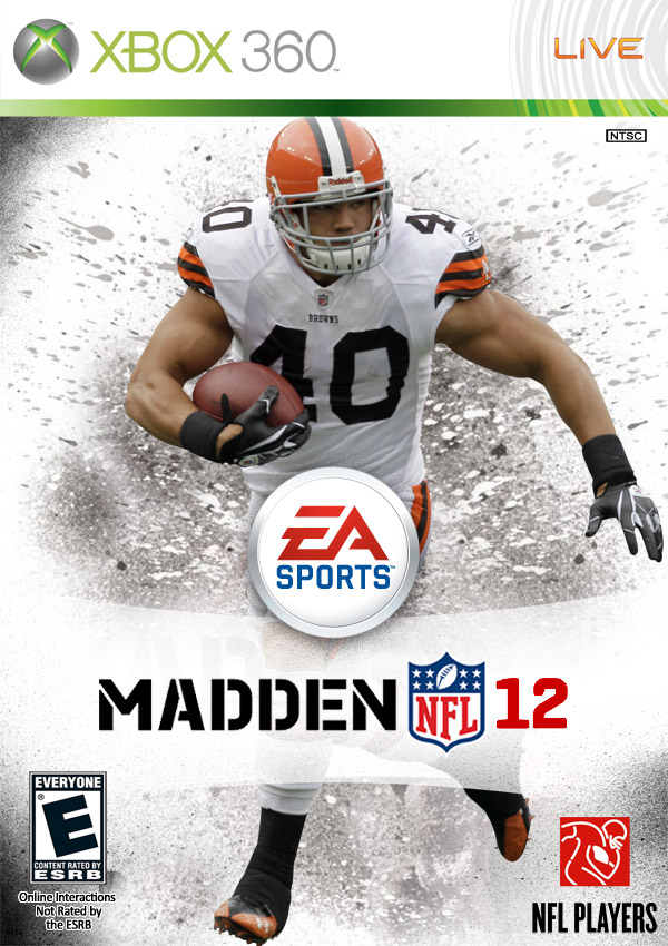 Courtroom peyton hillis wins madden nfl 12 cover over michael vick