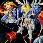 Alice Margatroid as Ex-S Gundam