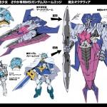 Sakuya as Gundam Exia and Octavia as GN Arms