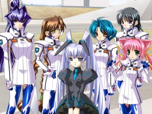 Muv Luv also gets a loli.  That's obviously the most important part!