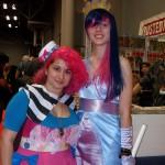 Pinkie Pie and Twilight Sparkle