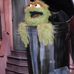 Oscar the Grouch, the actual muppet