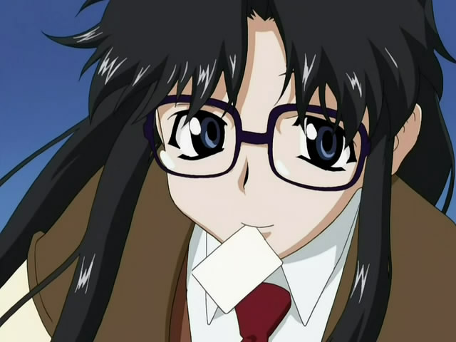 Anime Characters Glasses : Review read or die the ova moar powah