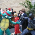 Raphael vs. Batman? My money is on the Dark Knight