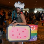 Nyan-Cat cosplay
