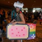 Nyan-Cat cosplay