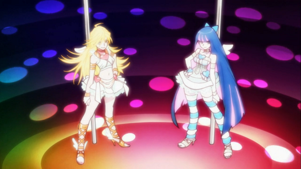 Panty & Stocking with Garterbelt Strip-transform