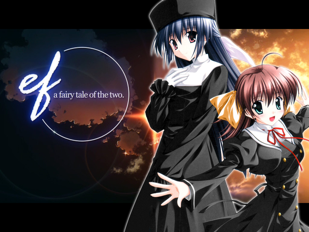 The Games Were Released By Developer Minori And Quite A Hit In Fact Ef Has Been Licensed For Release Outside Japan Company MangaGamer