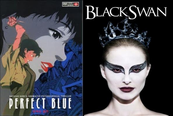 Black Blue Poster