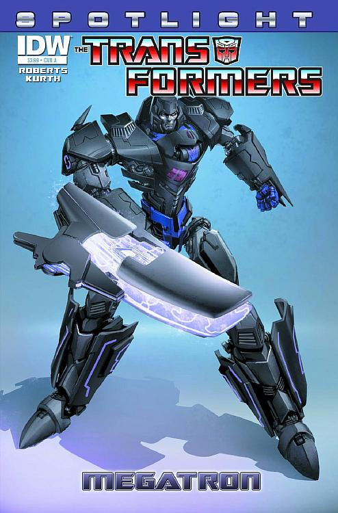 Transformers Spotlight Megatron Cover R1