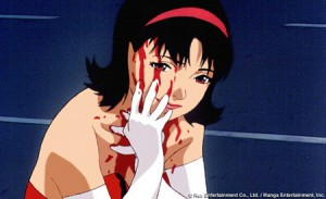 Not that Perfect Blue doesn't have it's moments where people could really use a straight-jacket.