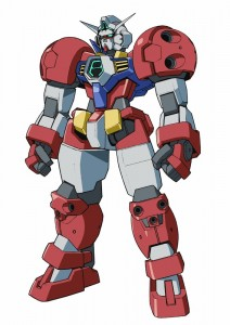 The Titus. It's some crazy cool boxing Gundam that does beam lariats and stuff (Gundam Maxter, anyone?)
