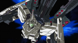 Good ol' Sunrise, making me wait a year to see an awesome-looking mobile suit in action.