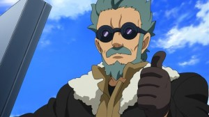 Of course, by the 3rd generation, Flit looks like some sort of crazy hobo uncle, so I'll give one point back to Gundam AGE.