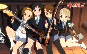 K-On! cast lineup
