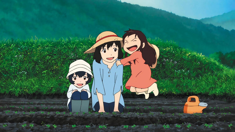Kết quả hình ảnh cho Ookami Kodomo no Ame to Yuki (Wolf Children) anime