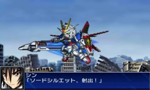 And this is the Destiny Gundam from SRW UX