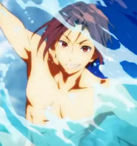 swimming anime hot one