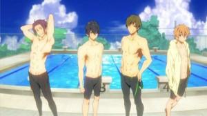 swimming anime lineup