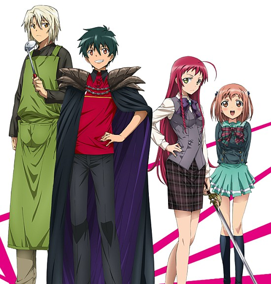 Download Anime Hataraku Maou Sama S2