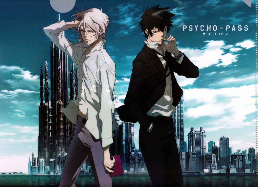 PSYCHO-PASS villian hero
