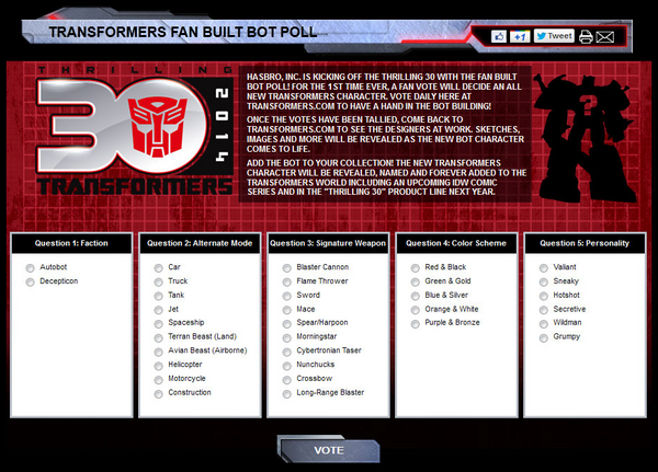 fan built bot poll