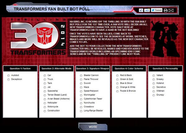 fan built bot poll