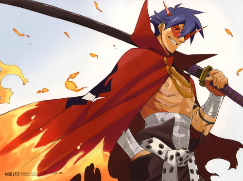 kamina-the-badass