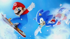 Mario and Sonic winter olympics