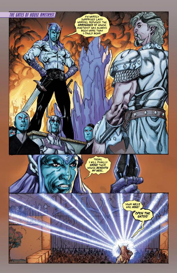 Eclipso: he may look ridiculous and flamboyant, but he's a total BAMF.