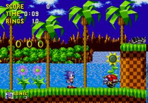 Sonic for mega drive