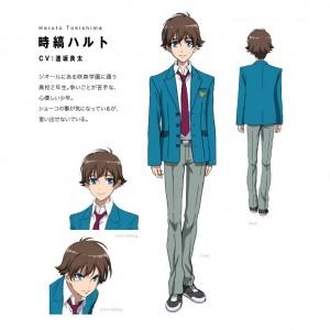 Tokishima Haruto, the main character