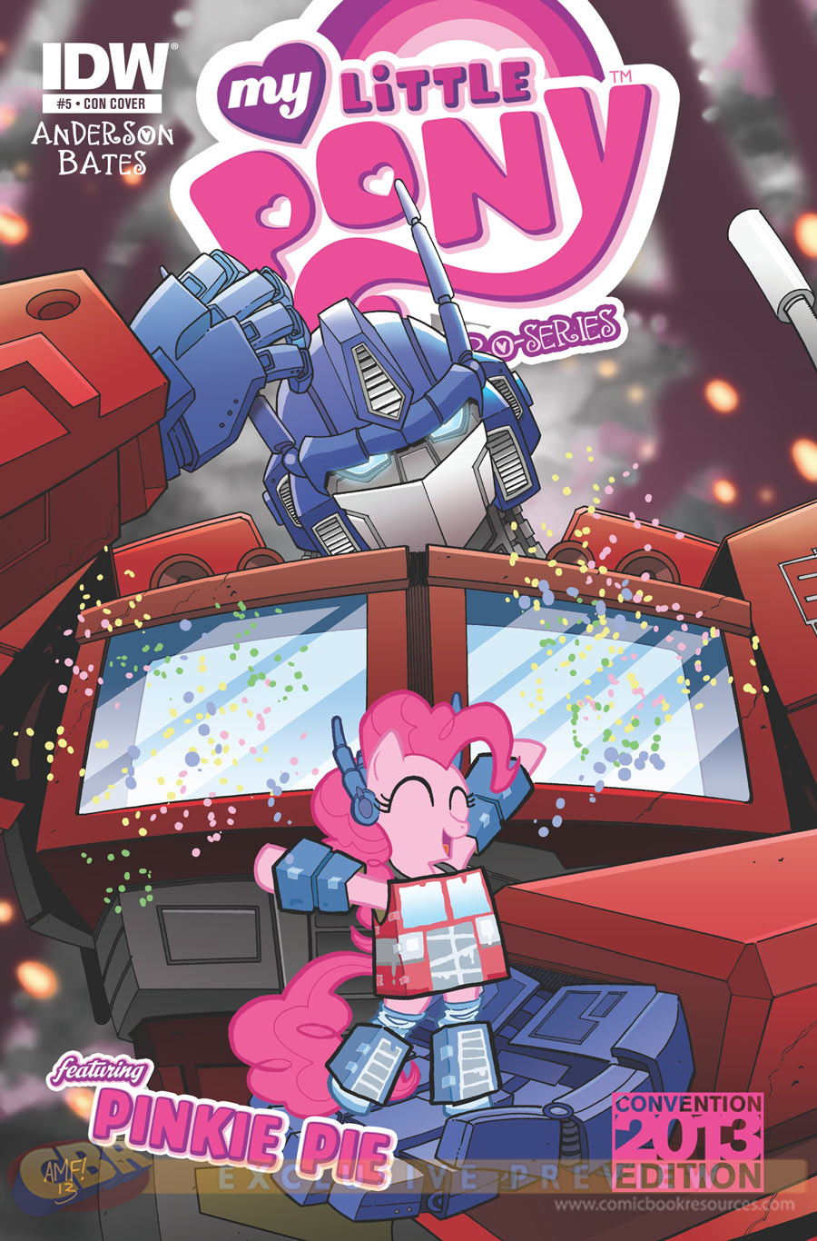 Exclusive Transformers x My Little Pony Crossover Comic Cover Revealed