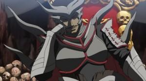 Basara anime Oda on his throne
