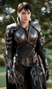 Antje Trau as Faora Ul. To call her a total badass is a gross understatement.