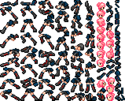 Look at all the sprites!