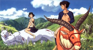 Princess Mononoke is not just Ashitaka's journey, nor is it only about rescuing a certain wolf princess and wining her heart--but how they both grow to be better people