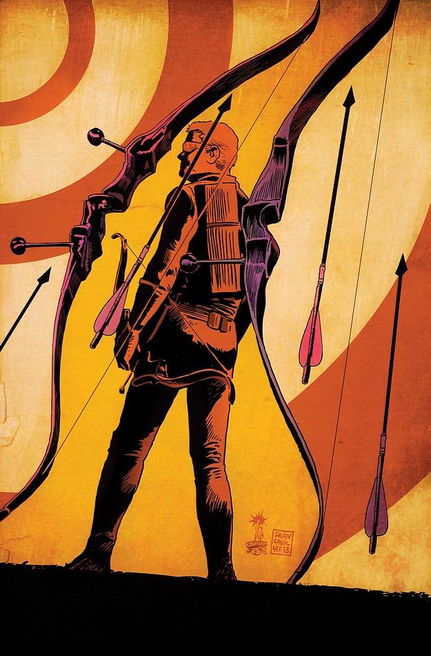 Hawkeye #12 cover
