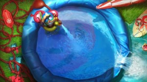 ziggs-throwing-pool-party