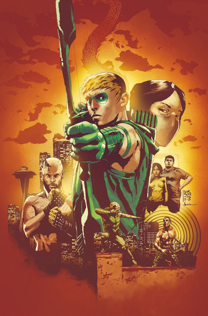 Green Arrow #24 cover
