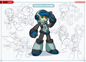 Mighty No. 9 beck concepts