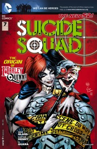 """Some fans have pointed out that Harley is part of the aptly named """"Suicide Squad""""--however, does that give DC a """"free pass"""" to joke about suicide?"""