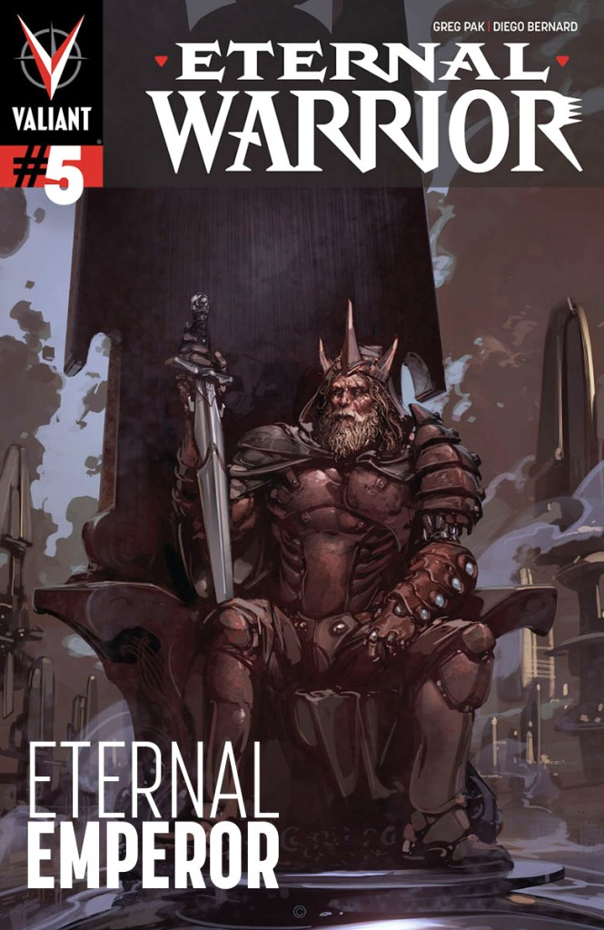 Eternal Warrior #5 Cover