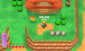 Here's some familiar scenery if you remember A Link to the Past!