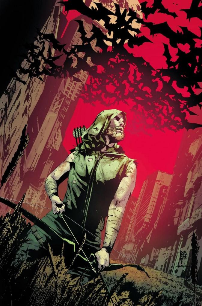 Green Arrow #25 cover