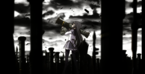 Homura is super cool in battle