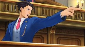 Can't have Phoenix Wright without the Objection! pose